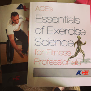 My Personal Training books!
