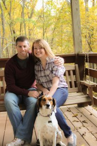 Gotta have some QT with my guy and our furbaby!  (Photo credit: Ashley Lauer Photography)